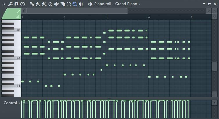 02 Fl Studio Piano Roll
