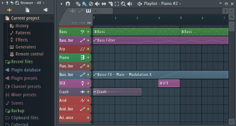 03 Fl Studio Browser