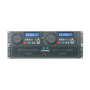 Citronic Cd 1x Dual Cd Player With Cdg Decoder P2937 5186 Zoom