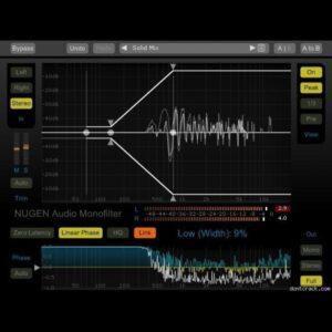 NUGEN Audio Mono Filter